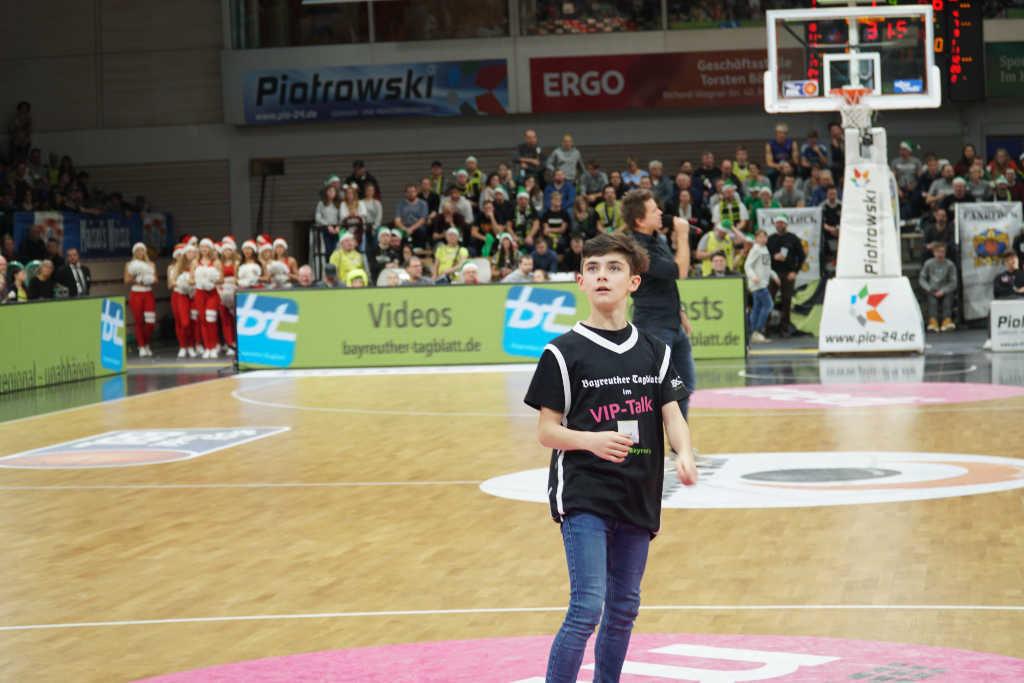 Der Bayreuther Basketball Nachwuchs beim Spiel