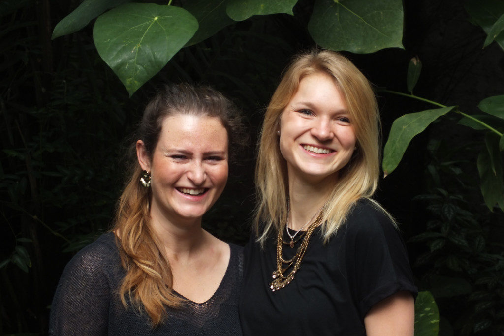 (v.l.) Maxime Kemmuna und Lisa-Marie Merkl die beiden Hauptorganisatorinnen des UNIKAT 2019.