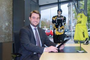 Adrian Loydl, Auszubildender bei der VR Bank Bayreuth-Hof eG