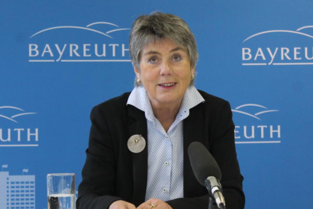 Brigitte Merk-Erbe wendet sich wegen des Coronavirus mit einer Videobotschaft an die Bayreuther. Archivfoto: Redaktion