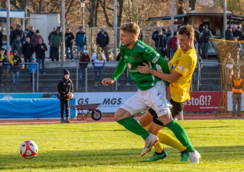 Bayreuths Neuzugang Stefan Maderer spielte im Trikot des FC Schweinfurt 05 bereits gegen die Altstadt. Archivfoto: Peter Glaser/SpVgg Bayreuth