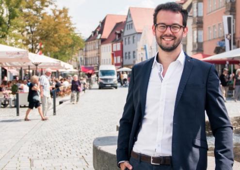 Andreas Zippel in Bayreuth. Foto: www.matchinglightphotography.de.