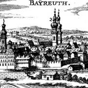 Stadtansicht Bayreuth 1686. Foto: Archiv Bernd Mayer