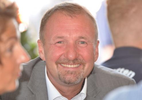 Der Bayreuther Stadtrat Stephan Müller übt Kritik an den Plänen der CSU, das Klinikum an einem anderen Standort neu zu bauen. Foto: Rudi Ziegler