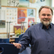 Thomas Bauske ist Lehrer am GMG. Zusätzlich ist er Fraktionsvorsitzender der SPD im Bayreuther Stadtrat. Foto: Privat.