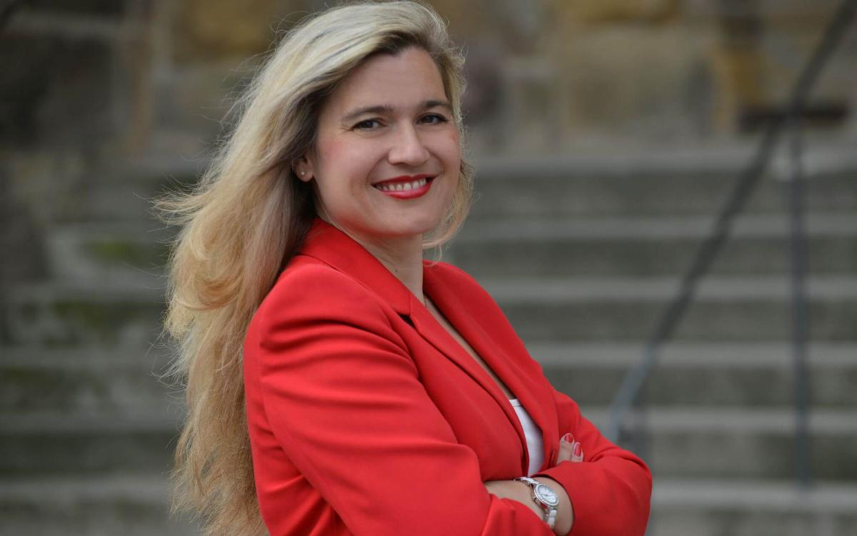 Staatsministerin Melanie Huml. Foto: Bayerisches Staatsministerium für Gesundheit und Pflege