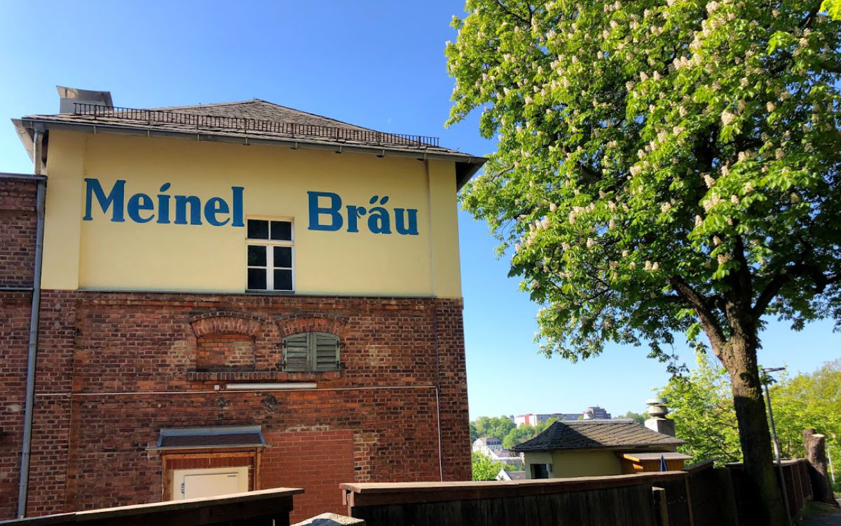 Das Meinel-Bräu in Hof. Foto: Christoph Scholz