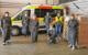 Im Bild (v.l.n.r.): Bozena Schiepert (Caritas), Dr. Franz Sedlak (Diakonie), Irene von der Weth (Paritätischer Wohlfahrtsverband), Ulrich Bertelshofer (Hospitalstiftung), Markus Ruckdeschel (BRK), Dietmar Kasel (BRK Rettungsdienst), Marion Tost (AWO). Foto: AWO Kreisverband Bayreuth-Stadt