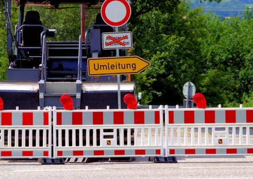 Das Straßenverkehrsamt weist auf die neuen Baustellen im Bayreuther Stadtgebiet hin. Symbolbild: pixabay