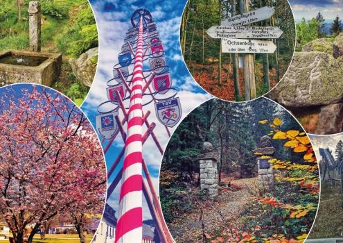 Bischofsgrün und die Erlebnisregion Fichtelgebirge haben viel zu bieten. Foto: Touristinfo Bischofsgrün