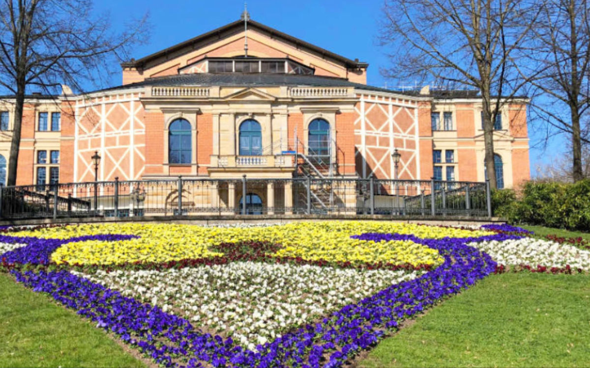 Das Festspielhaus in Bayreuth. Foto: Redaktion