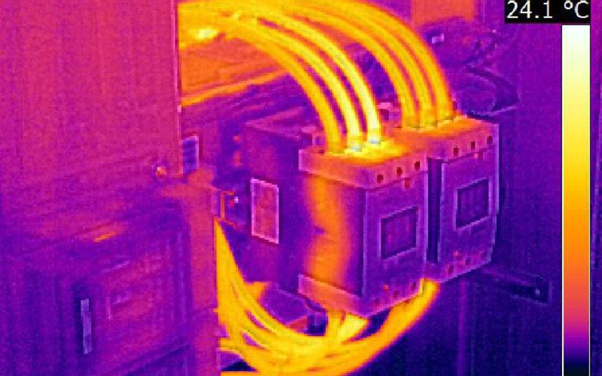 Auch im Bereich Thermographie bietet Gerlitz elektro gmbh Serviceleistungen an. Foto: Gerlitz