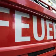 Feuer in Bayreuth. Ein Auto der Feuerwehr. Symbolbild: Pixabay