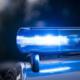 Die Polizei mit Blaulicht im Einsatz. Symbolbild: Pixabay