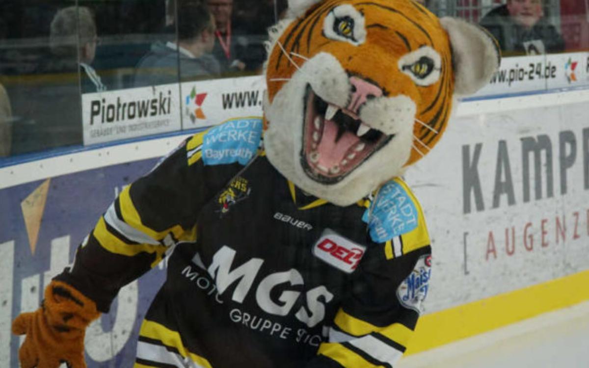 Bayreuth Tigers gegen Dresdner Eislöwen. Archivfoto: Frederick Eichstädt