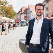 Bayreuths zweiter Bürgermeister, Andreas Zippel (SPD) möchte transparent sein. Foto: www.matchinglightphotography.de