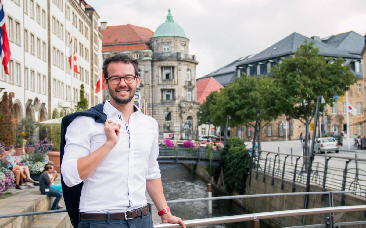 Bayreuths zweiter Bürgermeister, Andreas Zippel (SPD). Foto: www.matchinglightphotography.de