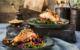 Knusprig und saftig: Lachs vom Grill erhält mit der Erdnusskruste einen besonderen Pfiff. Foto: djd/ültje/House of Food