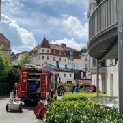 Feuer in einem Altenheim in Bayreuth. Foto: Redaktion