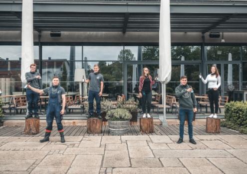 """Unter dem Arbeitstitel """"Project Maisel"""" haben die Azubis der Brauerei Maisel ihr eigenes Bier gebraut. Foto: Maisel's."""