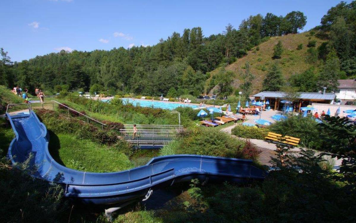 Das Freibad in Hollfeld wird ab Montag wieder öffnen. Foto: Förderverein Freibad Hollfeld e.V.