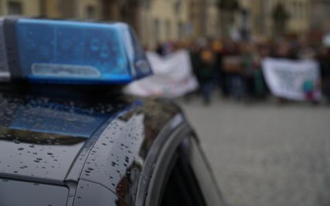 Demo für die Abschaffung der Maskenpflicht in Bayreuth. Archivfoto: Christoph Wiedemann