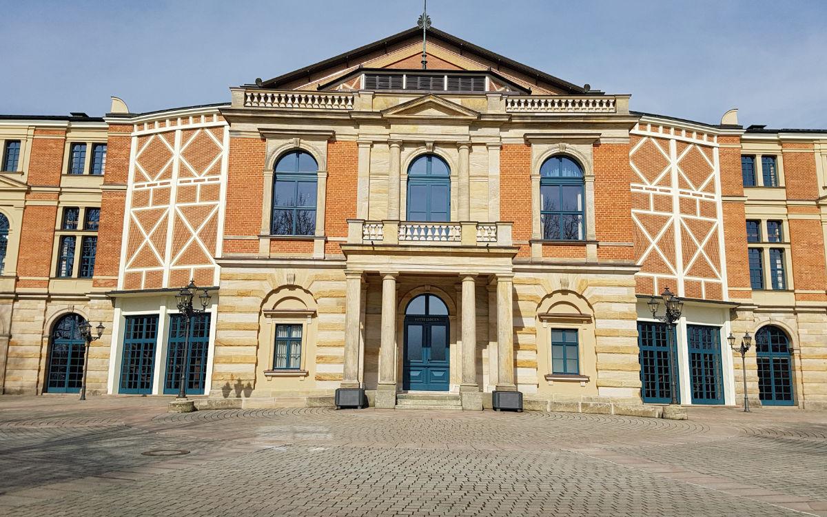 Das Bayreuther Festspielhaus. Foto: Redaktion