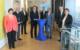 V.l.n.r.: Anette Dauth, Dr. Rainer Grimme, Andreas Held, Dr. Markus Schappert (Vorsitzender des Stiftungsvorstands), Jürgen Dünkel (Vorsitzender des Stiftungsrats), Peter Lang (Stv. Vorsitzender des Stiftungsvorstands), Hendrik Zuber Dünkel (Stv. Vorsitzender des Stiftungsrats) und Katrin Lang. Foto: Bürgerstiftung Bayreuth -Stadt und Land