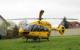 Ein Rettungshubschrauber musste zu einem schweren Unfall im Raum Wunsiedel. Symbolfoto: pixabay