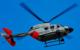 Die Polizei ist mit dem Hubschrauber unterwegs. Symbolfoto: pixabay