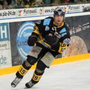 Ivan Kolozvary hat seinen Vertrag bei den Bayreuth Tigers verlängert. Archiv: Karo Vögel