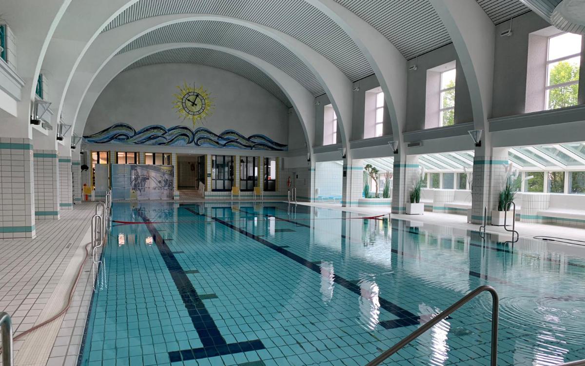 Das Stadtbad in Bayreuth öffnet wieder. Archivfoto: Katharina Adler