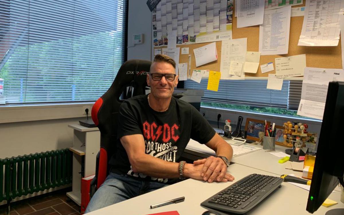 Jochen Brückner ist der stellvertretende Betriebsleiter des SVB-Hallenbades. Foto: Katharina Adler
