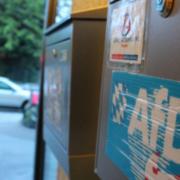 Der Briefkasten beim Parteibüro der AfD in Bayreuth. Archivfoto: Redaktion