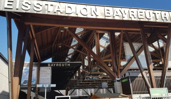 Das Eisstadion in Bayreuth. Foto: Redaktion