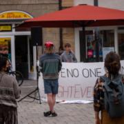 Am Freitag (19.6.2020) veranstalten die Students for Future in Bayreuth eine Mahnwache. Im Mittelpunkt dabei: der Klimaschutz und das Artensterben. Foto: Students for Future