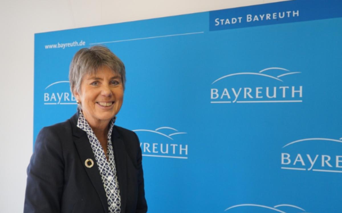 Die ehemalige Oberbürgermeisterin der Stadt Bayreuth, Brigitte Merk-Erbe, wurde zur Ehrenvorsitzenden der Bayreuther Gemeinschaft ernannt. Archiv: Redaktion