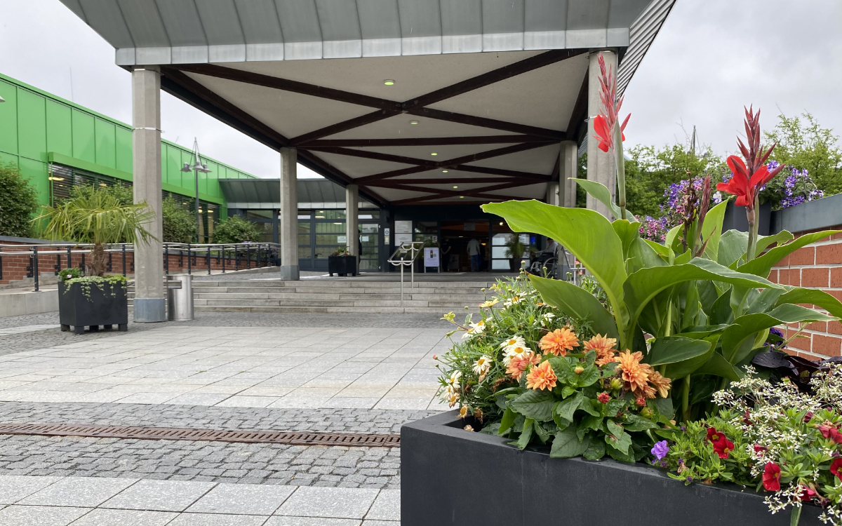 Das Bayreuther Klinikum. So geht es mit dem Neubau weiter. Archivfoto: Redaktion