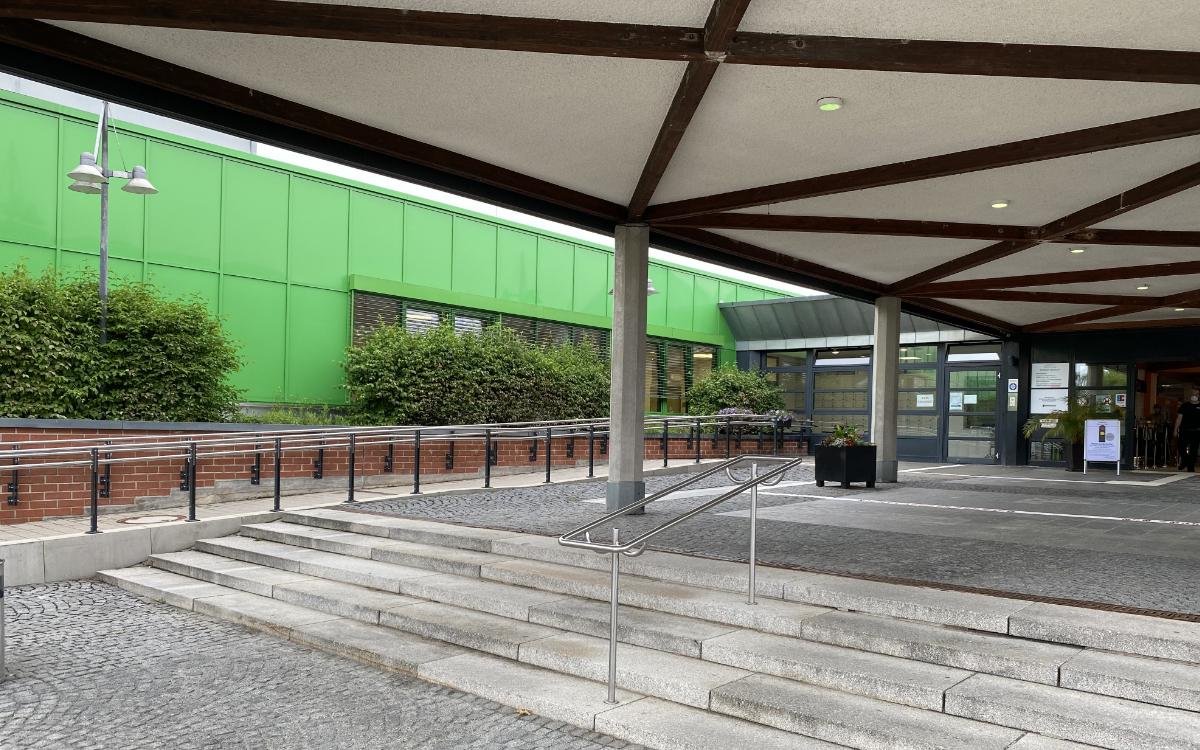 Das Bayreuther Klinikum. Foto: Redaktion