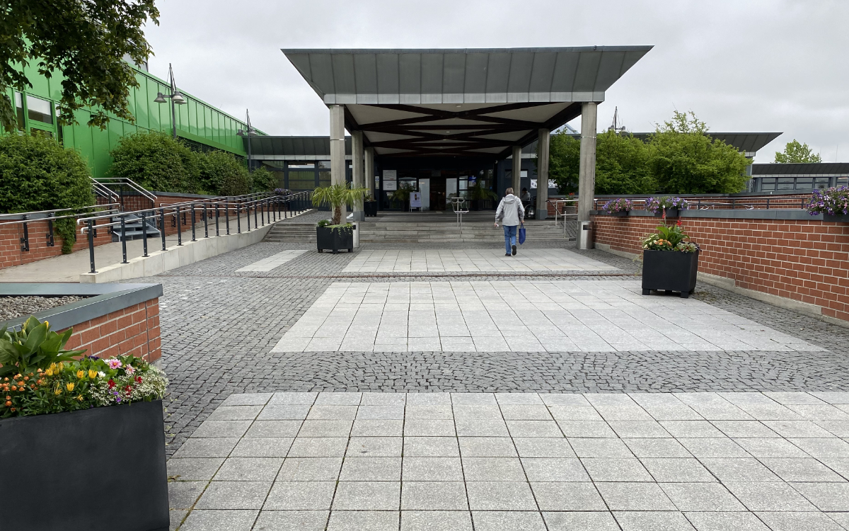 Die Maßnahmen am Klinikum Bayreuth werden gelockert. Archivfoto: Redaktion