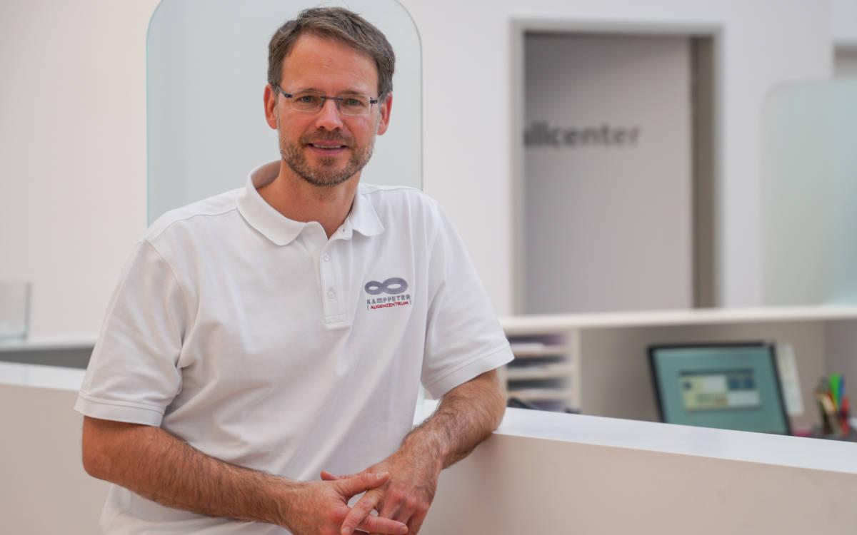 Dr. Bernd Kamppeter. Foto: Augenzentrum Kamppeter