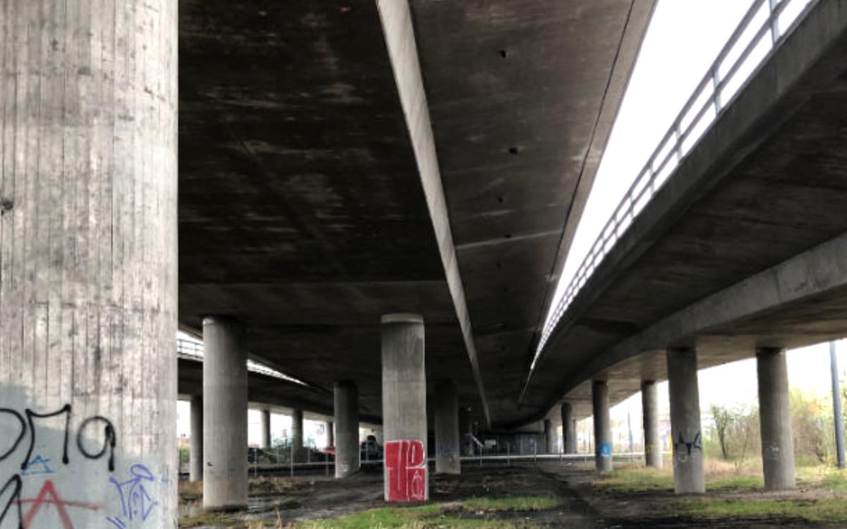 Der Neubau der Hochbrücke Bayreuth rückt näher. Nun kommt der nächste Schritt. Archivfoto: Redaktion