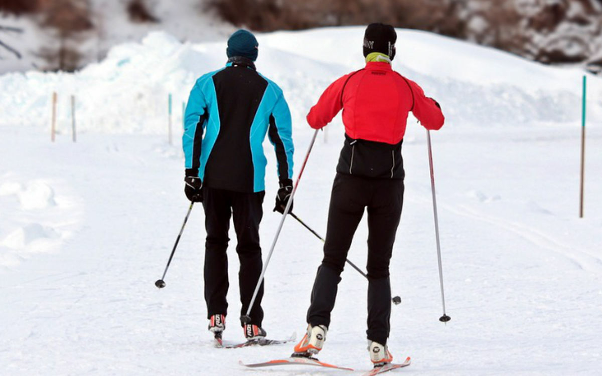 Wintersport im Fichtelgebirge. Symbolbild: pixabay