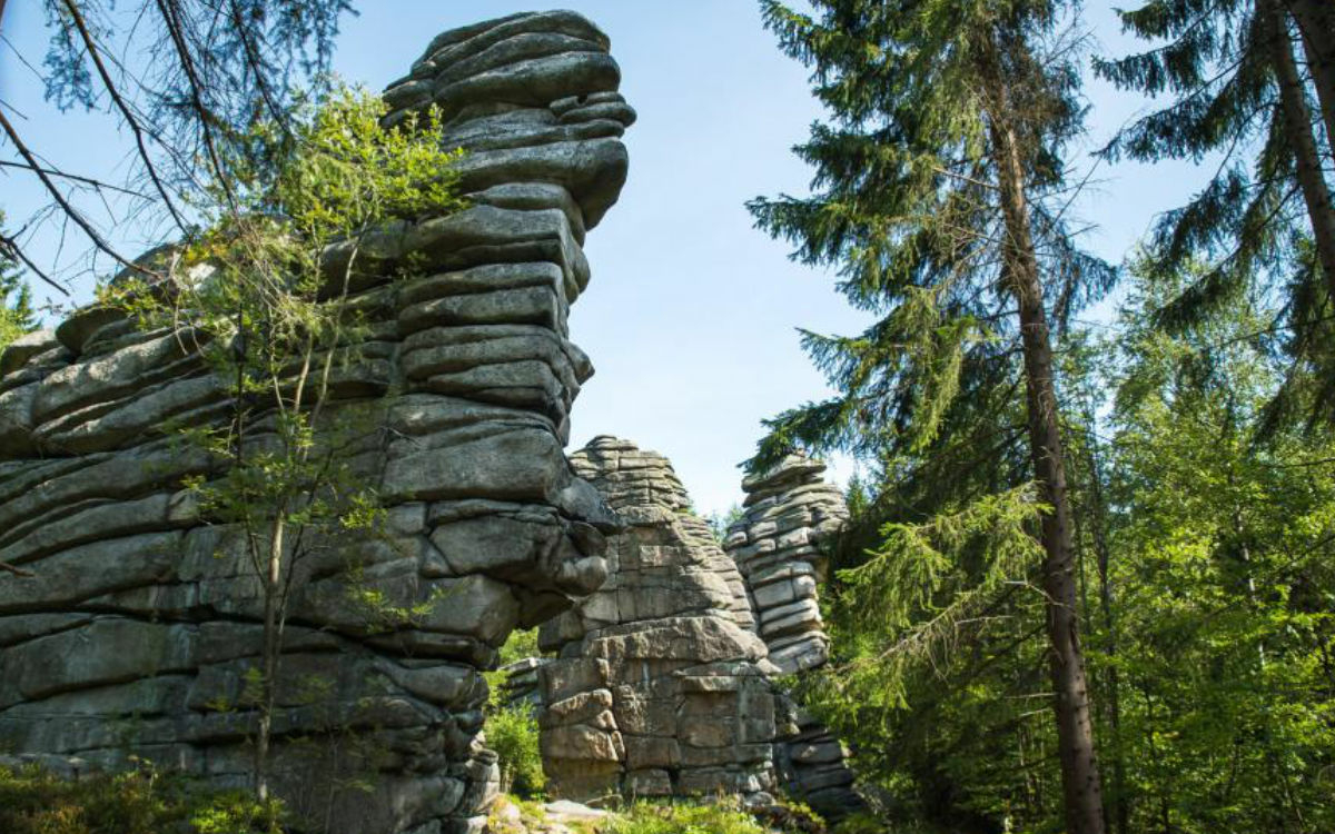 Drei Brüder Felsen. Foto: Kingunion Richard King