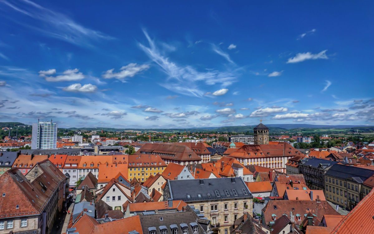 Blick über Bayreuth. Foto: Ramona Schirner