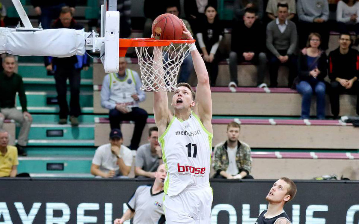 Lukas Meisner verlässt medi bayreuth. Foto: FIBA