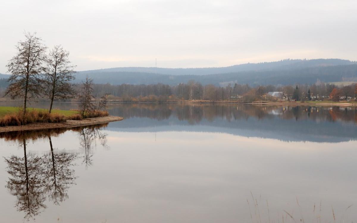 Der See in Weißenstadt. Jetzt hat das Landratsamt Wunsiedel eine Badewarnung wegen Blaualgen ausgesprochen. Foto: Pixabay