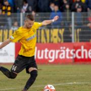 Testspiel gegen 1860 München: Chris Wolf spielt bei der SpVgg Bayreuth. Archiv: Peter Glaser/SpVgg Bayreuth