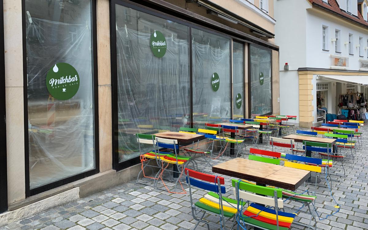Die Milchbar in Bayreuth. Foto: Katharina Adler