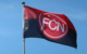 Die Fahne des 1. FC Nürnbergs. Weht sie bald in der dritten Liga? Symbolbild: Pixabay